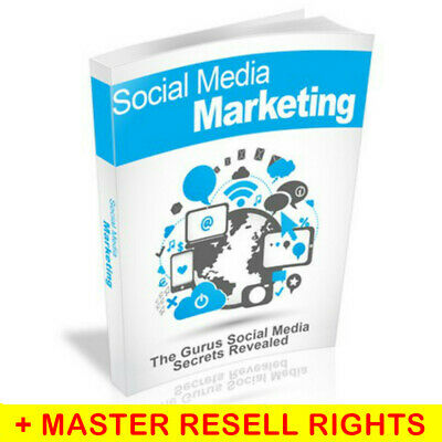 SOCIAL MEDIA ONLINE MARKETING BOOK EBOOK PDF WITH RESELL RIGHTS DELIVERY 12hrs !