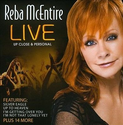 Live Upclose and Personal by Reba McEntire (CD, Jun-2013, TGG Direct) NEW SEALED