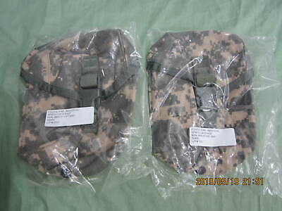 Qty. 2 NEW Military Issue ACU IFAK MOLLE First Aid Pouch / Utility Pouch / Ammo