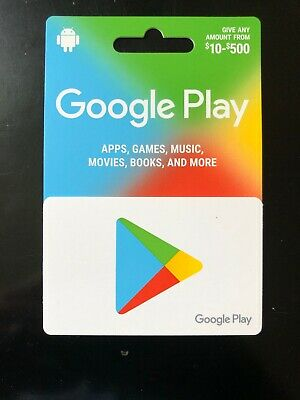 Google Play 500 USD Gift Card