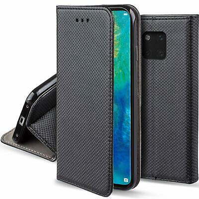 housse etui coque flip cover pour huawei mate 20 / mate 20 lite / mate 20 pro