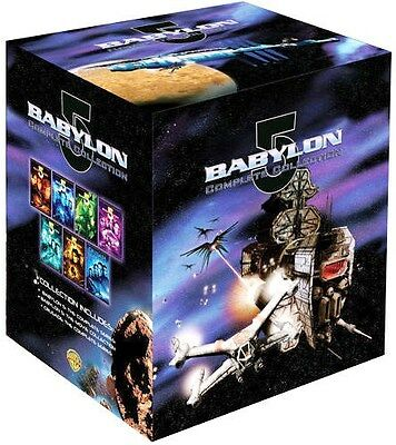 Babylon 5: Complete Series w/ Movie Collection & Crusade Series [DVD Box Set]