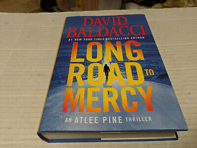 Long Road to Mercy by David Baldacci (2018, Hardcover) SIGNED 1st/1st