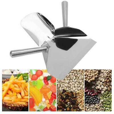 Heavy Duty Stainless Steel Catering Chip French Fry Bagger Scoop Popcorn Scoop
