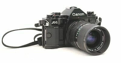 CANON A-1 SLR Camera With Canon 35-70mm f/4 FD Mount Lens  - BA2