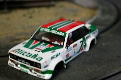 scalextric carroceria fiat abarth