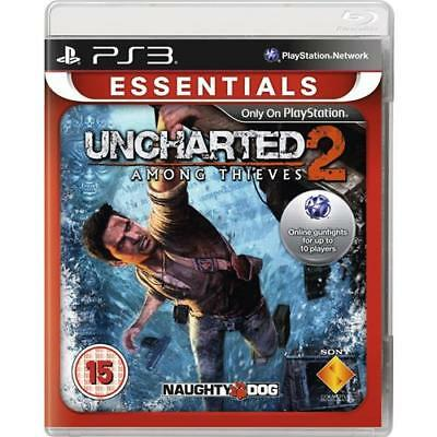Uncharted 2 Among Thieves PS3 Juego para Sony PLAYSTATION 3 Essentials Nuevo