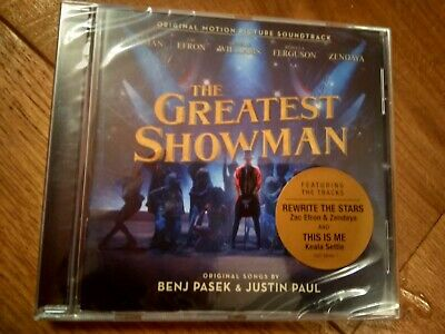 The Greatest Showman Soundtrack cd new