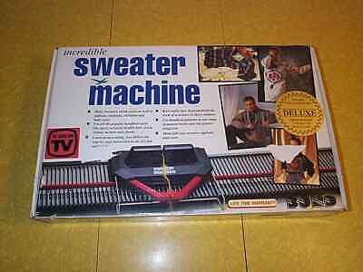 Vintage BOND INCREDIBLE SWEATER MACHINE KNITTING - MADE IN ENGLAND