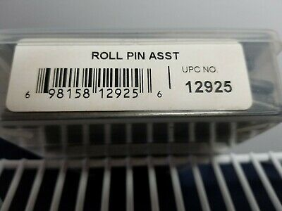 Maint Kit Steel Slotted Spring Roll Pin Asst (300 Pc) Ups 12925*Precision Brand