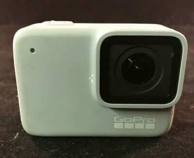 GoPro HERO7 White Waterproof Digital Action Camera SPTM1 WITH HANDLE