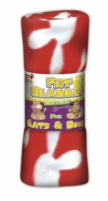 Pets at Play Pet Blanket (Assorted Colours) 80cm x 80cm Pet Toys  PAP1030A