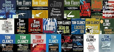 Tom Clancy - Jack Ryan (Ryanverse) Collection 26 Audiobooks MP3-DVD