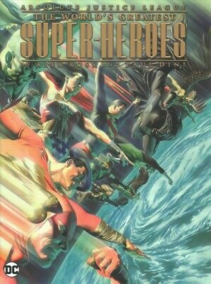Absolute Justice League : The World's Greatest Super-Heroes, Hardcover by Din...