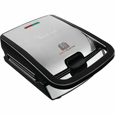 Tefal Snack Collection SW 852D, Sandwichmaker, silber