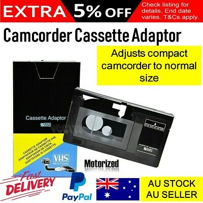 CAMCORDER VHS-C CASSETTE VIDEO TAPE TO NORMAL SIZE ADAPTOR CONVERTER New
