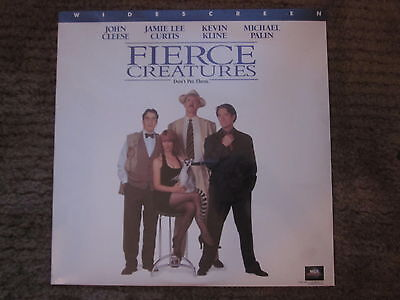 New Fierce Creatures Widescreen Laserdisc Stereo Factory Sealed