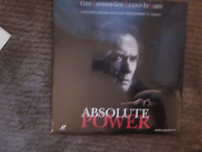 New Absolute Power Clint Eastwood Widescreen Laserdisc Factory Sealed