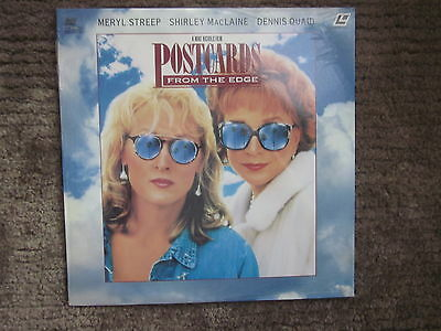 Postcards From The Edge Laserdisc Factory Sealed New Meryl Streep Mclaine Quad