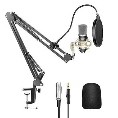 Neewer Condenser Microphone Kit for Home Studio Studio Broadcasting Recording