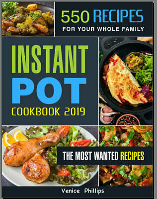 550 Recipes Keto Diet Cookbook Instant Pot - Eb00k/PDF - FAST Delivery