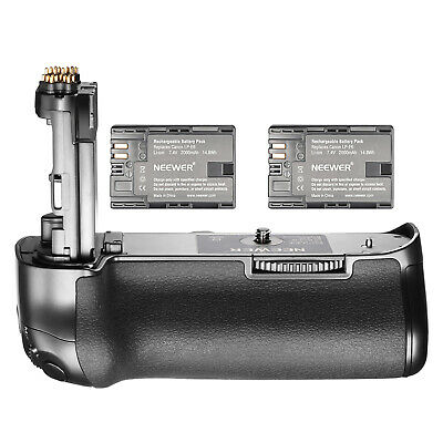 Neewer Mark IV Replacement Canon BG-E20 Battery Grip with 2 Pack LP-E6 Batteries
