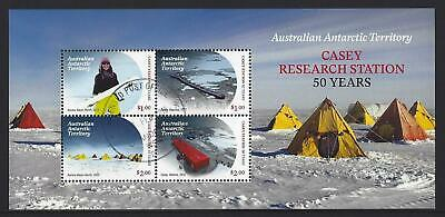 Australia Antarctic Territory 2019 Casey Research Station Miniature St Fine Used