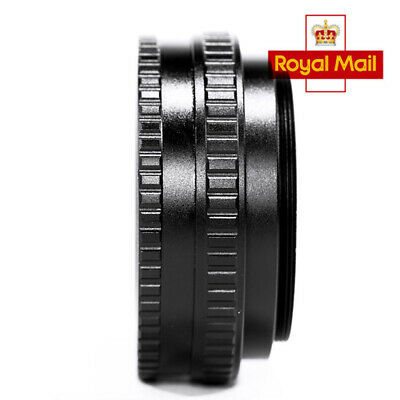 UK 17mm to 31mm M65 Mount Lens Adjustable Focusing Helicoid Macro Tube Adapter