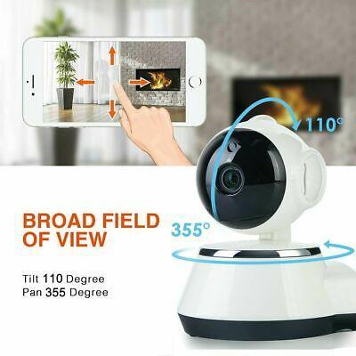 Smart WiFi Audio CCTV Camera 1080P HD Wireless IP Camera Home Security UK