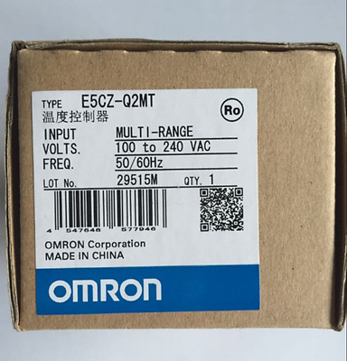 1PC New Omron Temperature Controller E5CZ-Q2MT E5CZQ2MT 100-240VAC free shipping