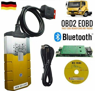 TCS CDP Pro Plus KFZ Profi LKW OBD2 2015R3 Diagnosegerät Bluetooth AUTO Gut