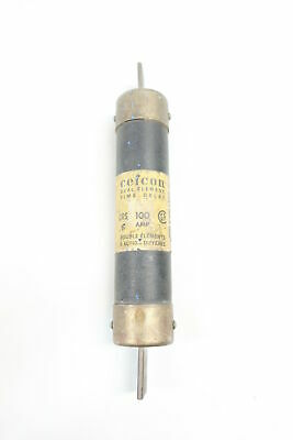 Cefcon CRS100 Time Delay Fuse 100a 600v-ac