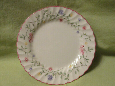 """Johnson Bros Summer Chintz Round Bread & Butter Plate 7.5"""" Made in England"""