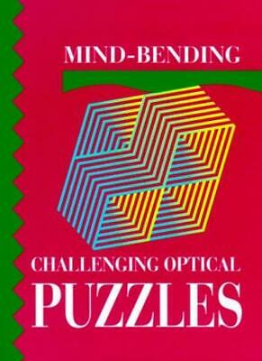 Mind-bending Challenging Optical Puzzles (Mind Bending Puzzle Books),Linley Clo