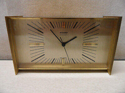 Vintage Staiger Exclusiv Quartz Mantel Clock - Made in West Germany