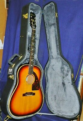 """THE REAL DEAL: 1967  EPIPHONE FT-79  """"TEXAN""""  Acoustic Boomer, G'd Cond. HSC!"""