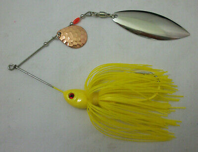 BALL BEARING SWIVELS z1 5ct GOLD #4 MAGNUM WILLOWLEAF Spinnerbait Blades