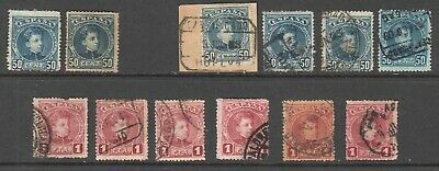 Spain 283-284 Sound Collection Lot $80 Scv Cancels Shades Unused