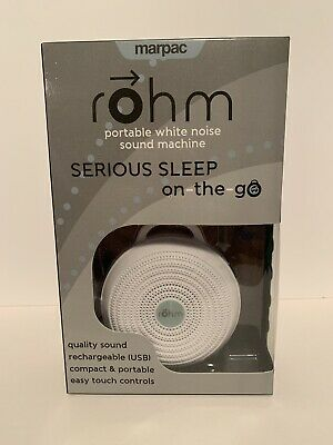 (New) Marpac Rohm Portable White Noise Sound Machine
