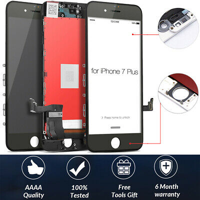 For iPhone 7 Plus Black LCD Display Touch Screen Digitizer Assembly Replacement