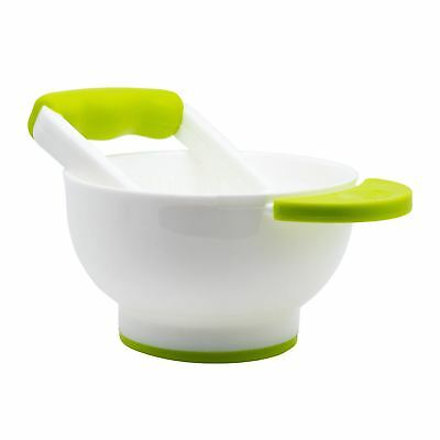 Annabel Karmel by NUK BABY FOOD MASHER & BOWL Solid Feeding Accessory BN