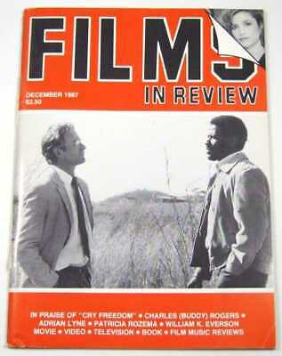 Films In Review (December, 1987) Adrian Lyne Overview; Fatal Attraction Review