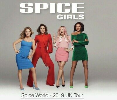 Spice Girls Tickets x2 - London Wembley, Friday 14th June 2019 05.00 p.m.