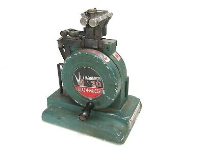 Vintage Monarch 20 Dial-A-Pricer Label Making Machine