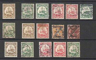 Germany Colonies Collection Lot Most Sound Kamerun Carolinen More
