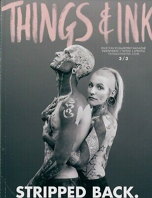 Things & Ink - Issue 9 - Cover 3