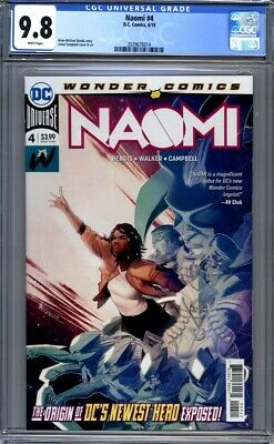Naomi #4  Bendis & Campbell  DC Comics Origin Issue Sold Out 1st Print  CGC 9.8