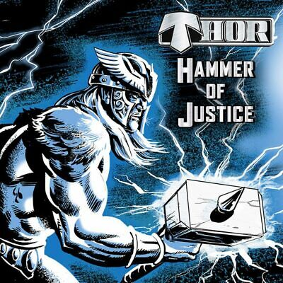Thor – Hammer of Justice (Limited Edition Blue Vinyl)Heavy Metal Wotan Victory