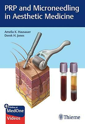 Prp and Microneedling in Aesthetic Medicine by Amelia Hausauer Hardcover Book Fr