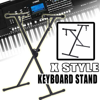 New Electric Piano X Stand Keyboard Organ Rack Metal Height Adjustable 61 76 Key